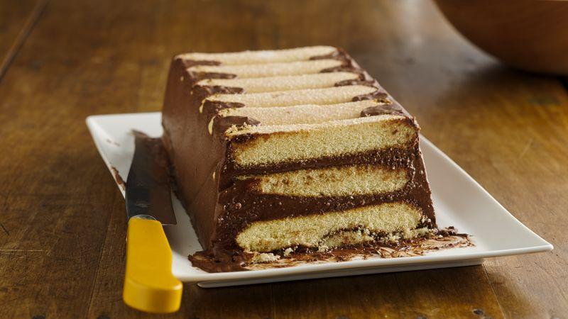 Lady Fingers Dessert Recipes  Chocolate Mousse Icebox Dessert Recipe BettyCrocker
