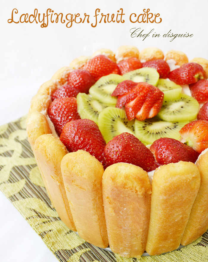 Ladyfinger Dessert Recipes  Lady finger fruit dessert – Chef in disguise