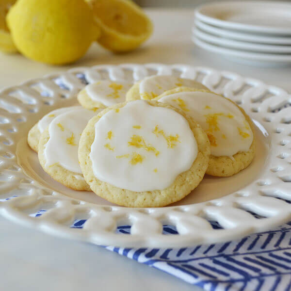Landolakes Butter Cookies  Frosted Lemon Cookies Recipe