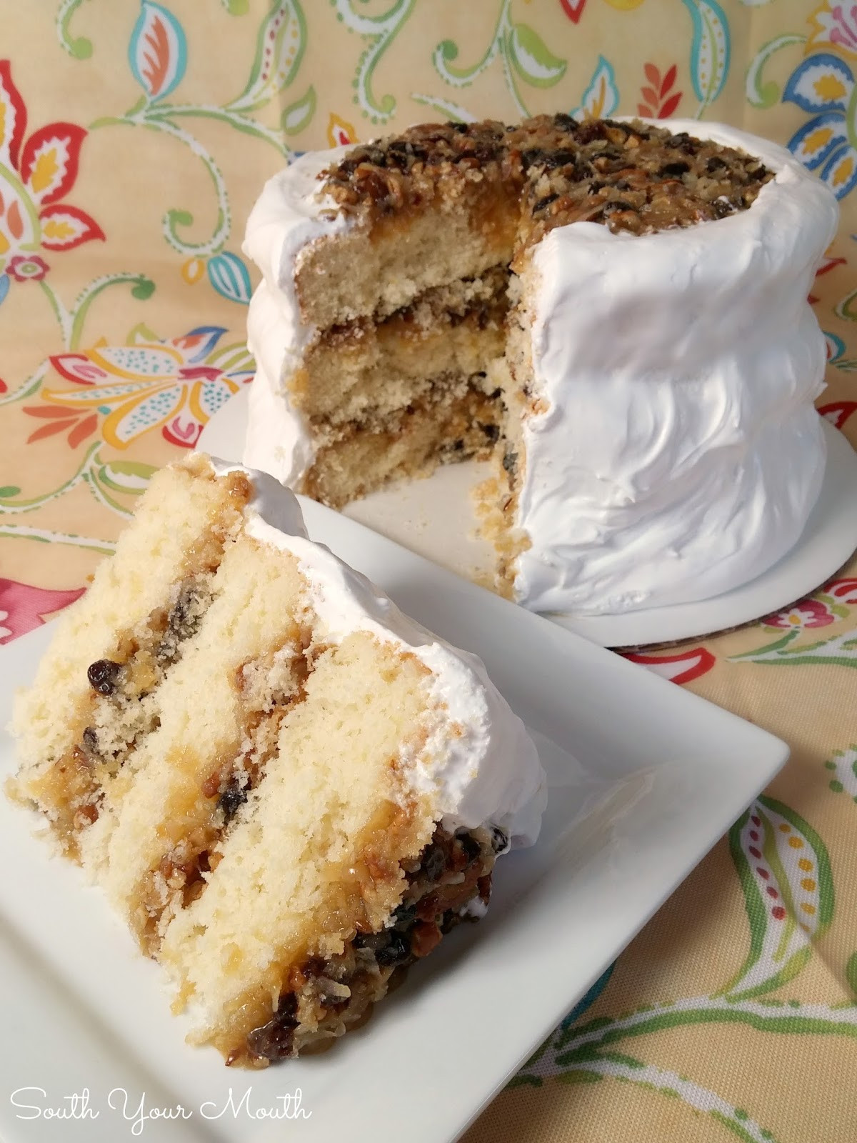 Lane Cake Recipe  South Your Mouth Get the New Cookbook What s in it and