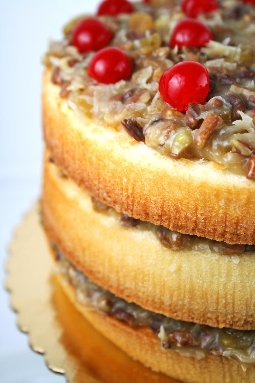Lane Cake Recipe  Alabama Lane Cake Mom Loves Baking