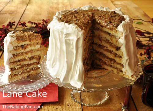 Lane Cake Recipe  Lane Cake Recipe