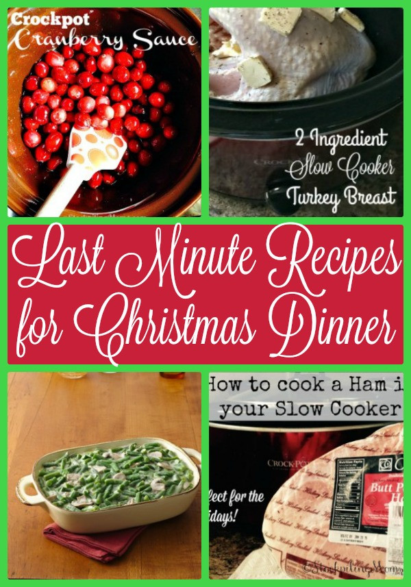 Last Minute Dinner Ideas  Last Minute Recipes for Christmas Dinner