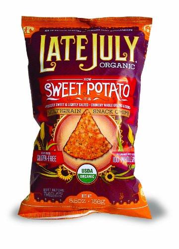 Late July Crackers  Late July Organic Snacks How Sweet Potato it is Multigrain