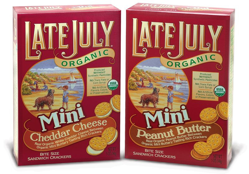 Late July Crackers  Is Organic Food Making You Fat Eating Made Easy
