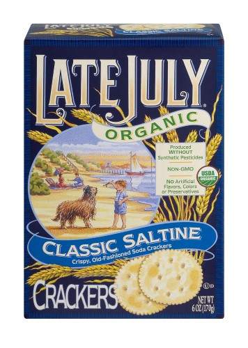 Late July Crackers  Late July Snacks Saltine Crackers 6oz