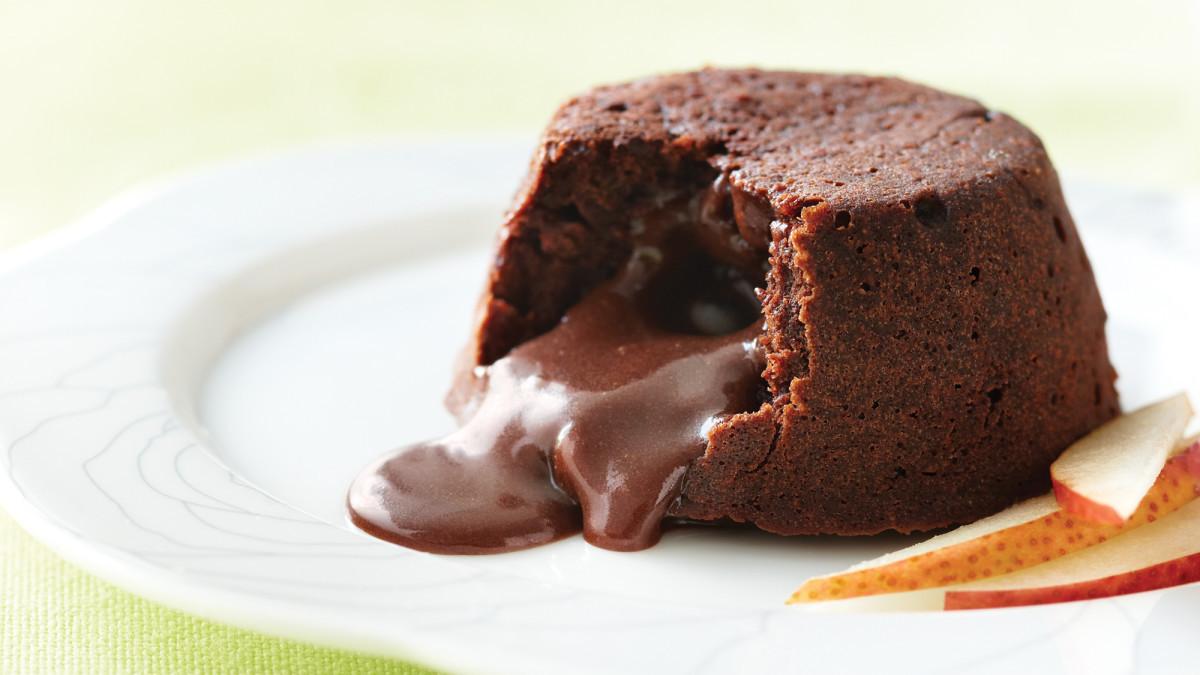 Lava Cake Recipe  Low Calorie Molten Lava Cake Recipe Clean Eating Magazine