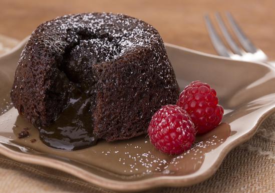 Lava Cake Recipe  Chocolate Molten Lava Cake