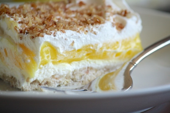 Layered Lemon Dessert  Luscious Lemon Delight An Easy to Make Dessert