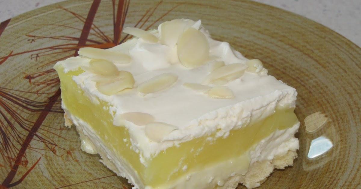 Layered Lemon Dessert  Homemaking Pilgrim Layered Lemon Dessert