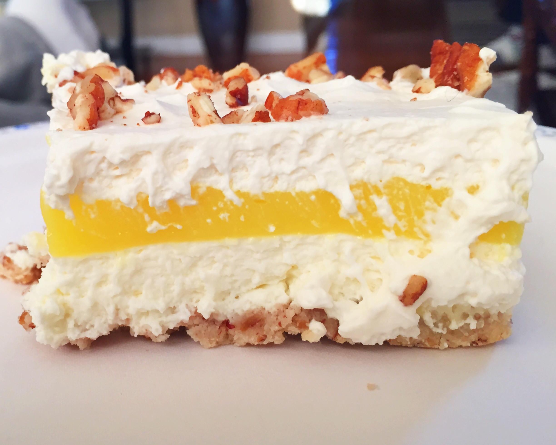 Layered Lemon Dessert  Layered Lemon Bars – Claudia s Cookbook