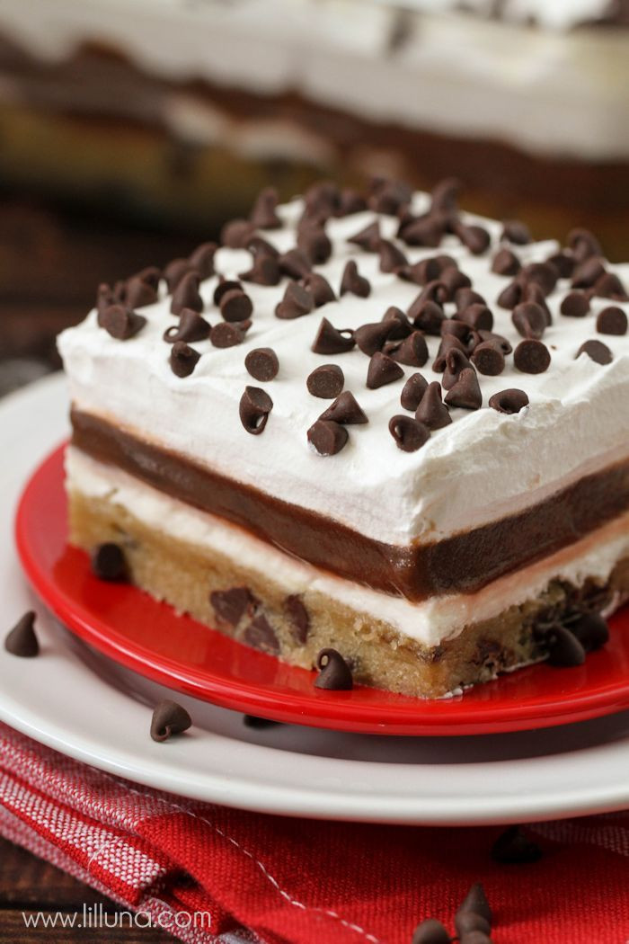 Layered Pudding Desserts  Cookie Delight
