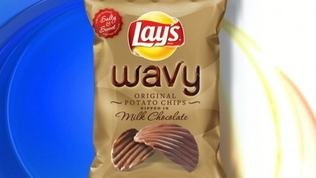 Lays Chocolate Covered Potato Chips  Lays Expected to Debut New Chocolate Dipped Potato Chips