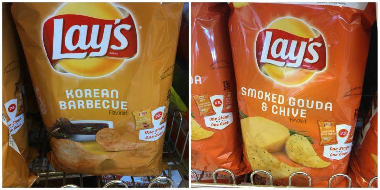 Lays Potato Chips Flavors List  lays potato chips new flavors