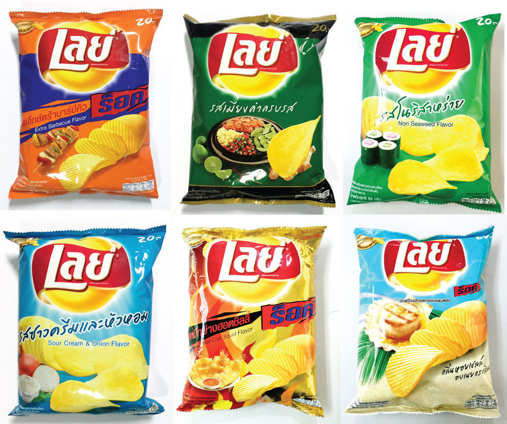 Lays Potato Chips Flavors List  52g Lays Potato Chip Crispy Fried Snack 6 Flavor for you