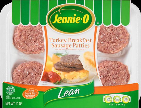Lean Breakfast Meat  Lean Turkey Breakfast Sausage Patties