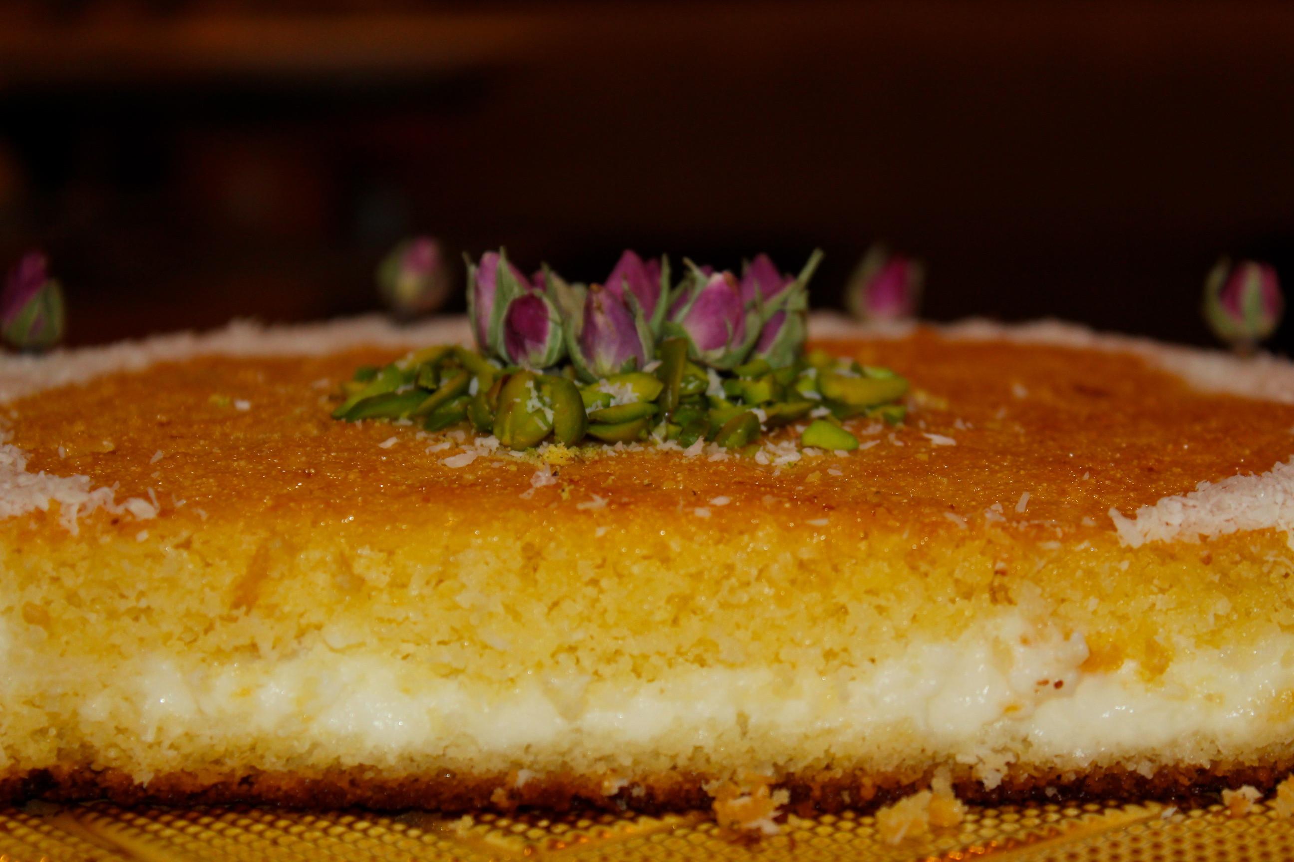 Lebanese Desserts Recipe  arabic dessert