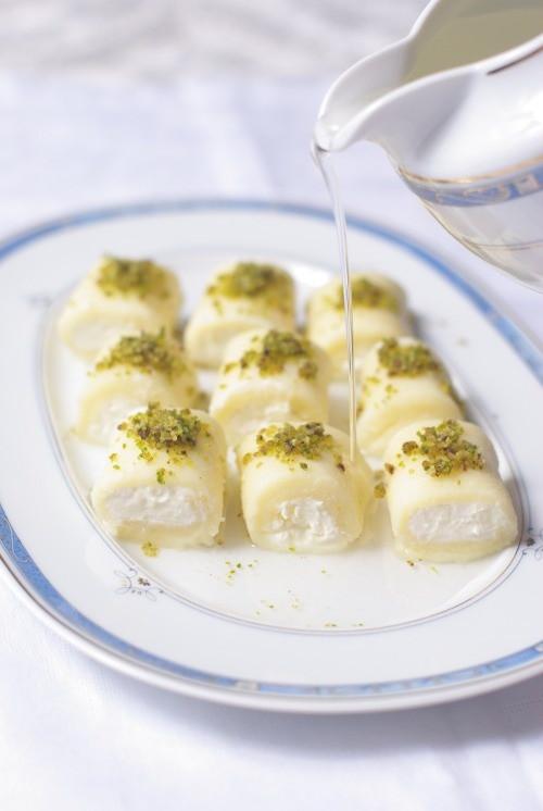 Lebanese Desserts Recipe  Lebanese sweets dessert baklava knafeh
