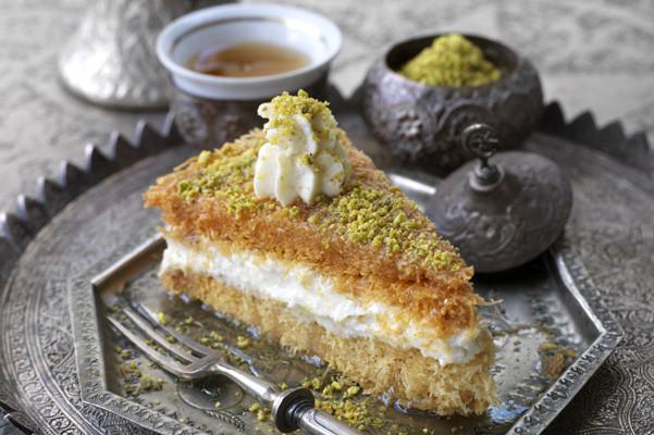 Lebanese Desserts Recipe  Osmalieh Vermicelli Dessert Recipe