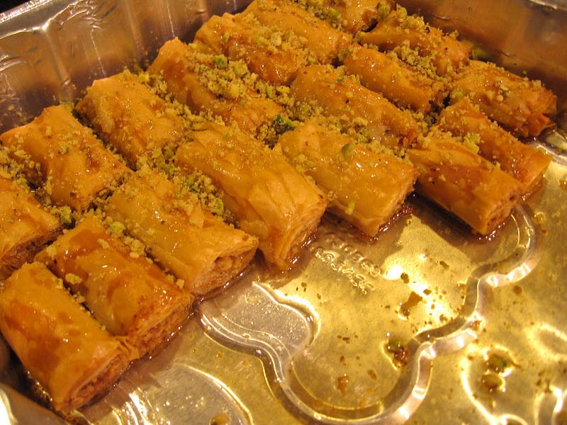 Lebanese Desserts Recipe  Easy to Make Lebanese Baklava Rolls Recipe