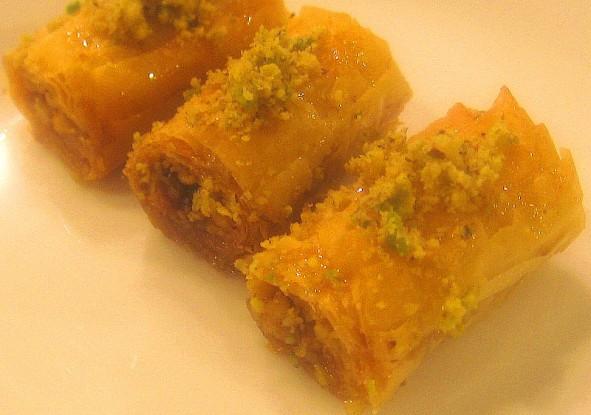 Lebanese Desserts Recipe  Baklava Fingers
