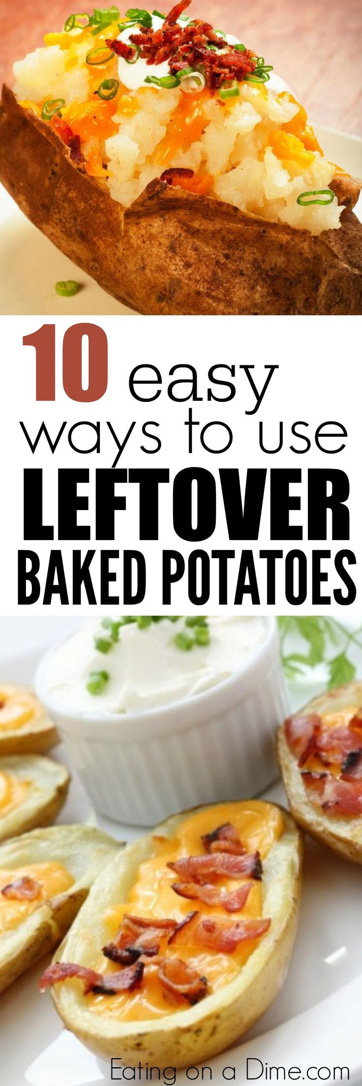Leftover Baked Potato Recipes  25 best ideas about Leftover baked potatoes on Pinterest