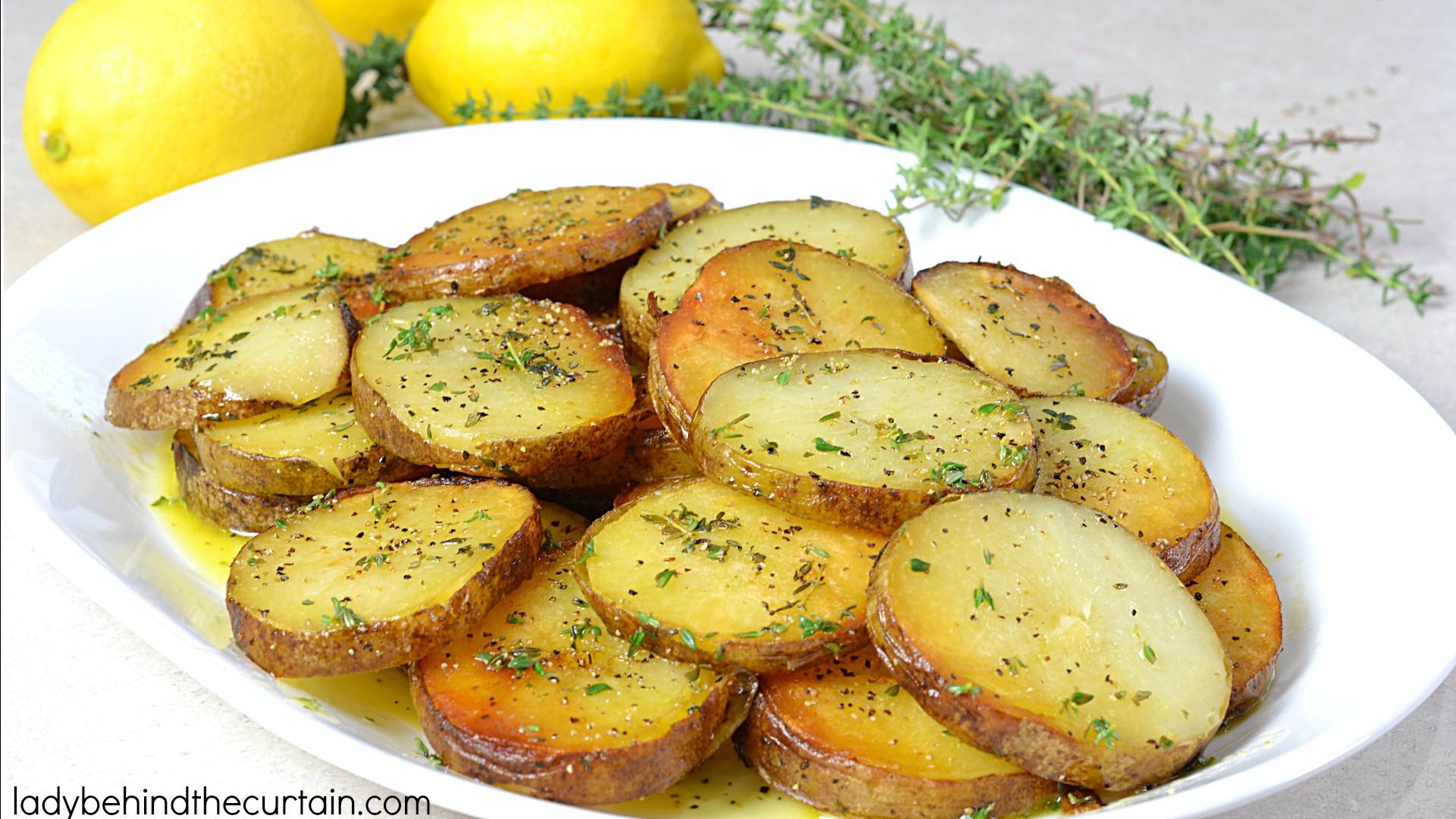 Leftover Baked Potato Recipes  Lemony Leftover Baked Potatoes