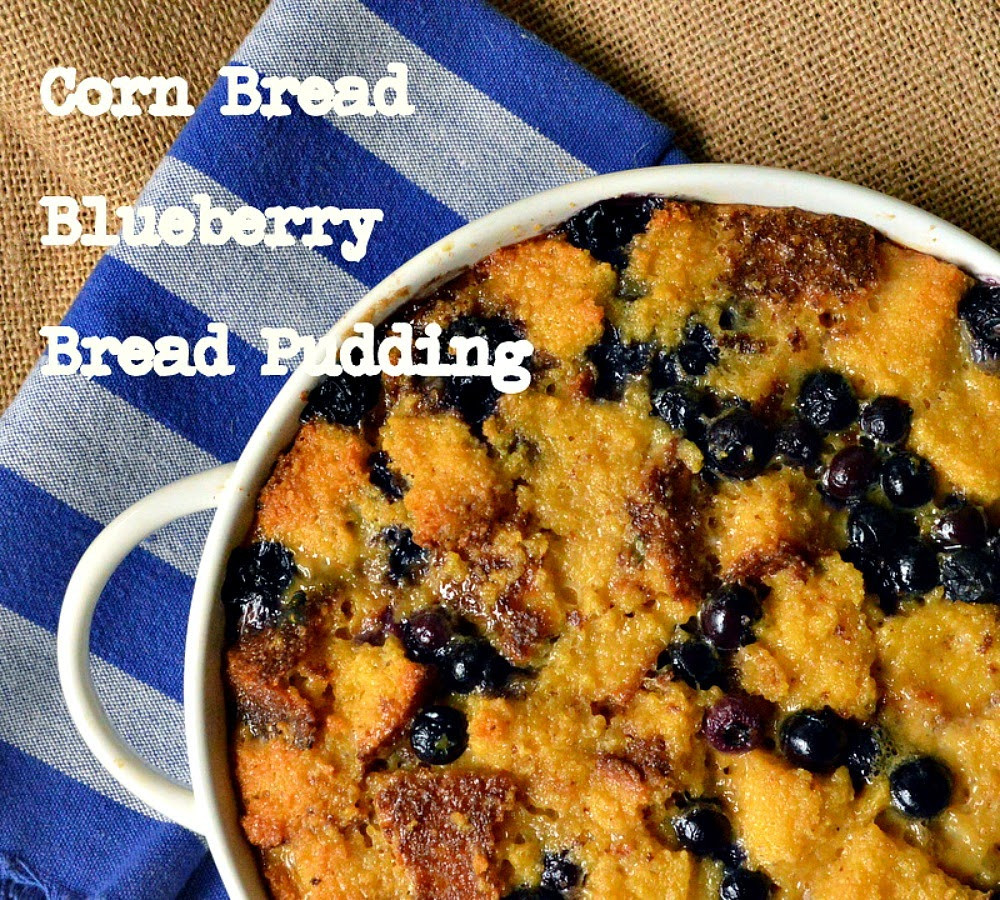 Leftover Cornbread Recipes  This is How I Cook Corn Bread Blueberry Bread Pudding or