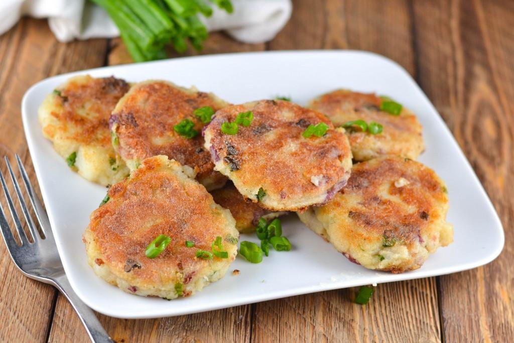 Leftover Mashed Potato Cakes  Gluten Free Bacon Leftover Mashed Potato Cakes