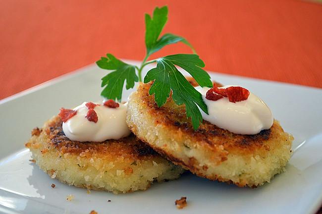 Leftover Mashed Potato Cakes  Leftover Mashed Potato Cakes Vegan
