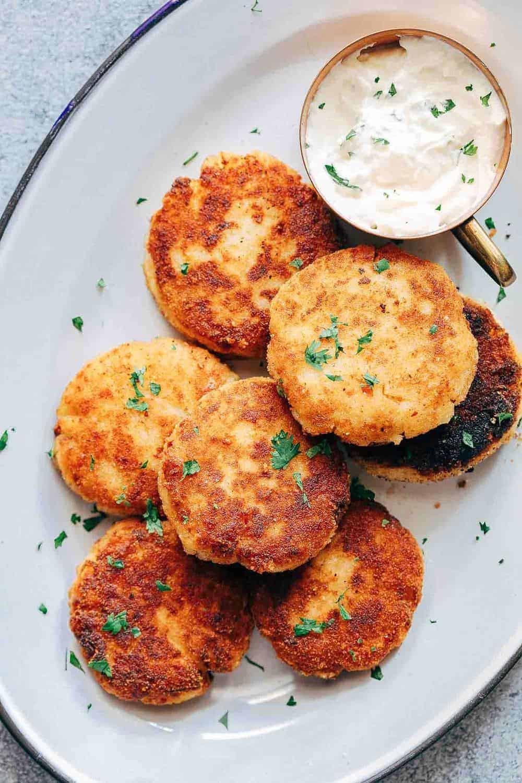 Leftover Mashed Potato Cakes  Ham Mashed Potato Cakes