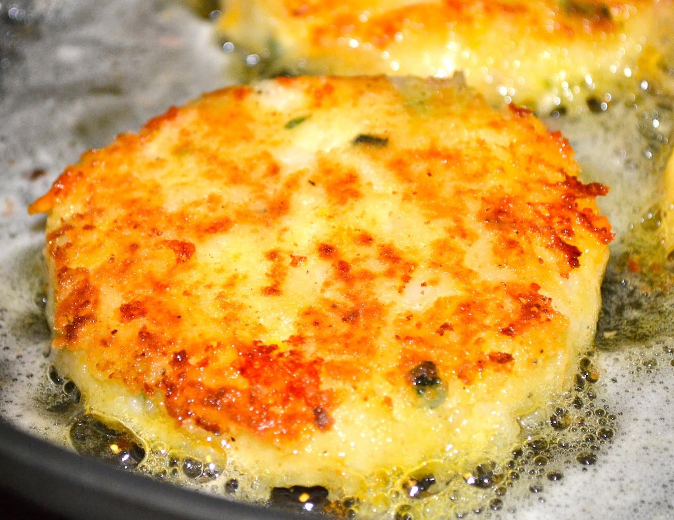 Leftover Mashed Potatoes Recipe  Cheesy Leftover Mashed Potato Pancakes By freerecipenetwork