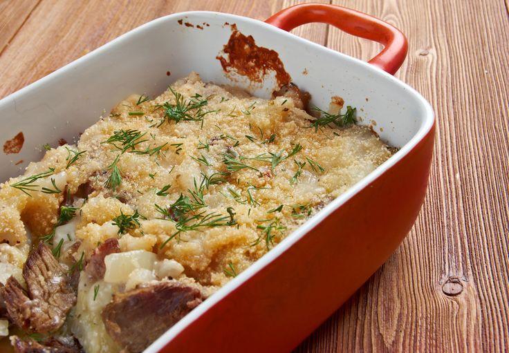 Leftover Pork Roast Casserole  Repurposed Leftovers Recipe Beef Miroton