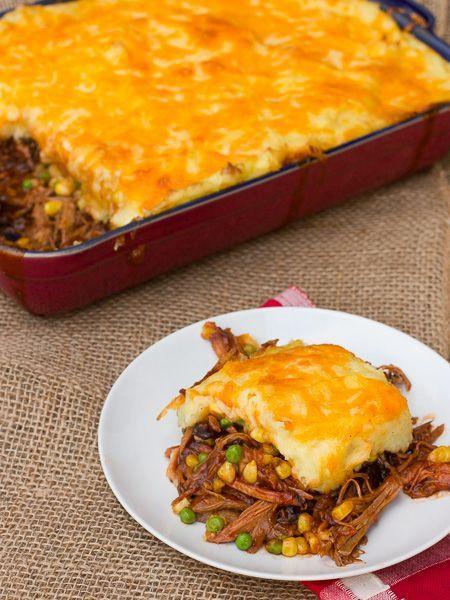 Leftover Pulled Pork Casserole  100 Leftover Pork Recipes on Pinterest