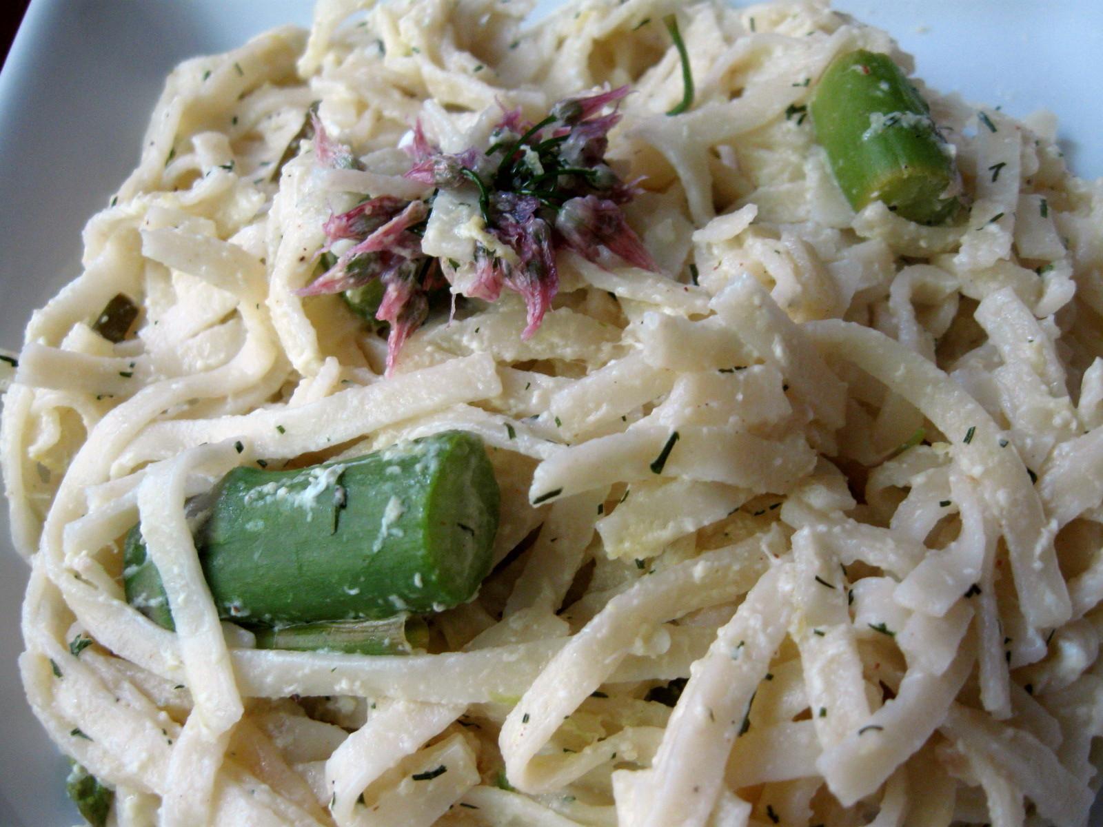 Lemon Asparagus Pasta  Lemon Asparagus Pasta Wholistic Woman