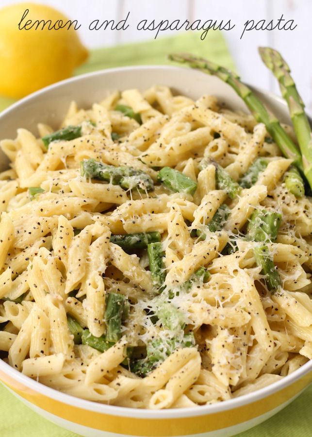 Lemon Asparagus Pasta  Lemon and Asparagus Pasta