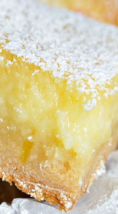 Lemon Bars With Cake Mix  Pinterest • The world's catalog of ideas