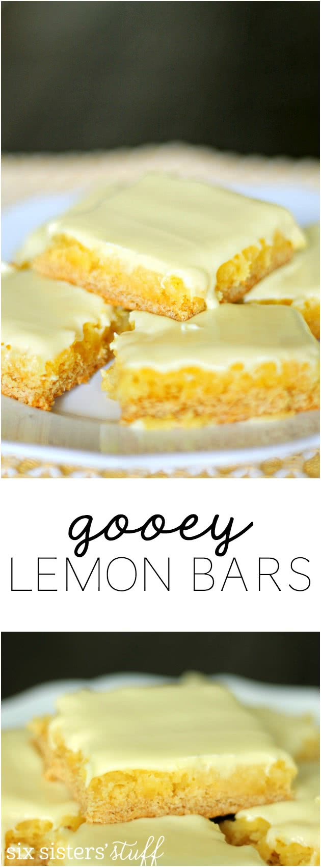 Lemon Bars With Cake Mix  Gooey Lemon Bars