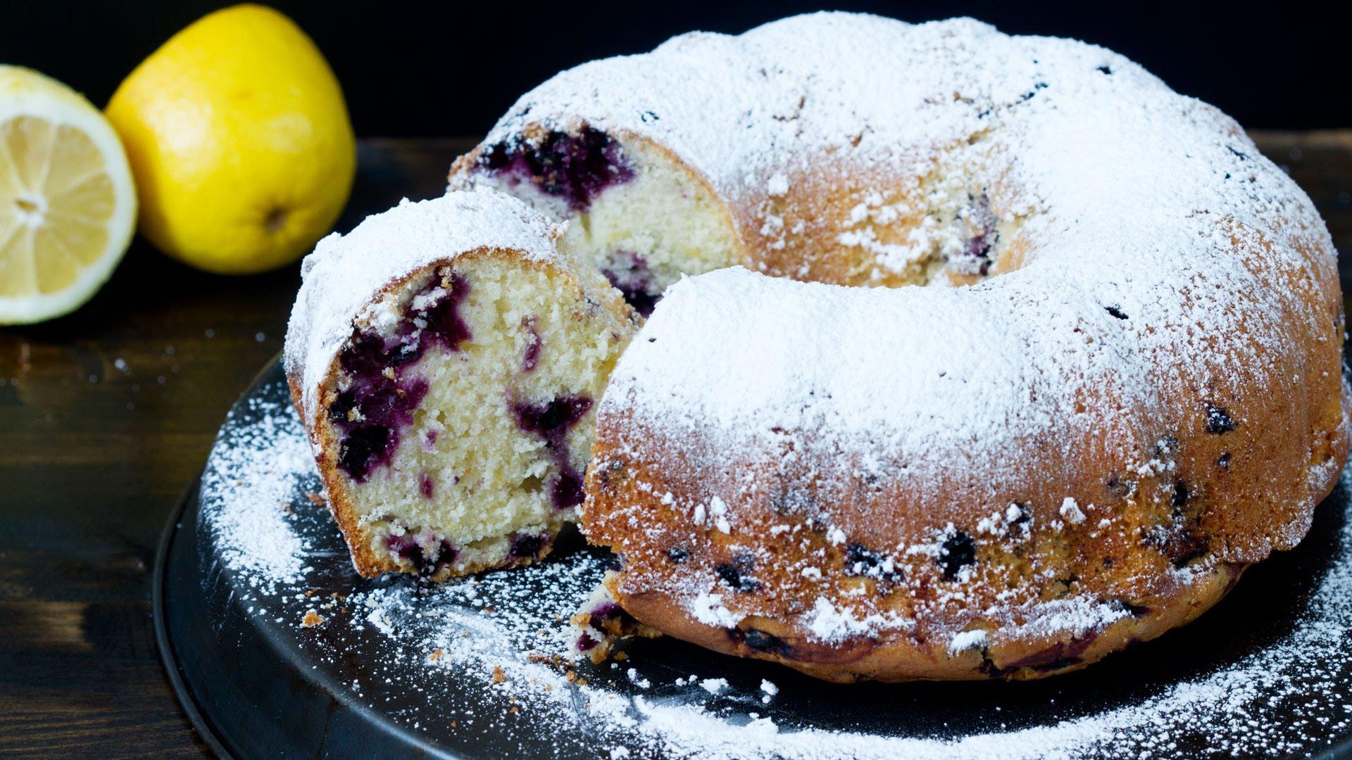 Lemon Blueberry Bundt Cake  Blueberry Lemon Bundt Cake Recipe