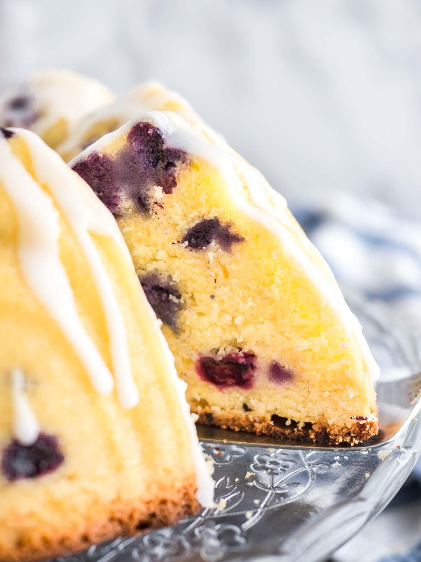 Lemon Blueberry Bundt Cake  Lemon Blueberry Bundt Cake