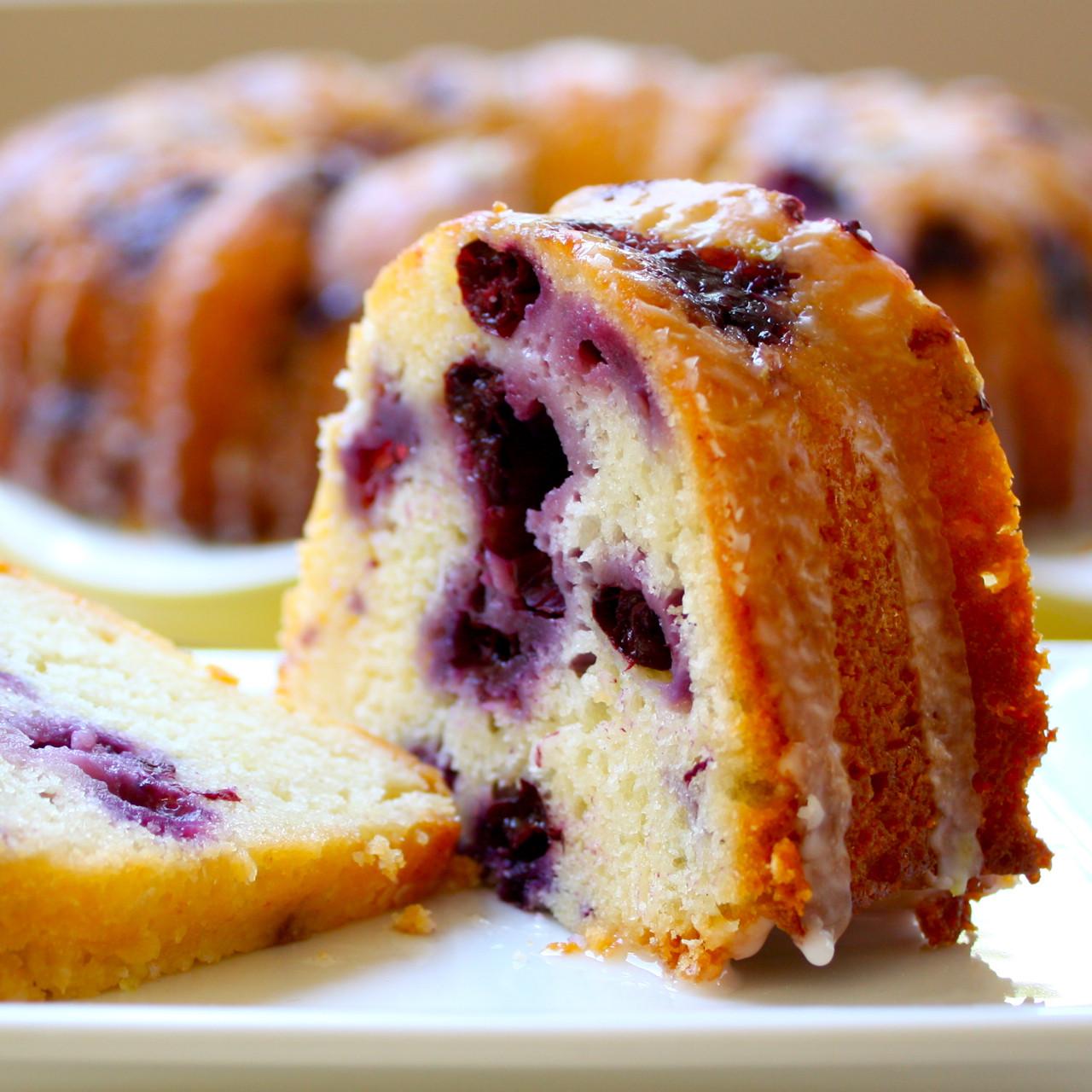 Lemon Blueberry Pound Cake  FRESH OR FROZEN