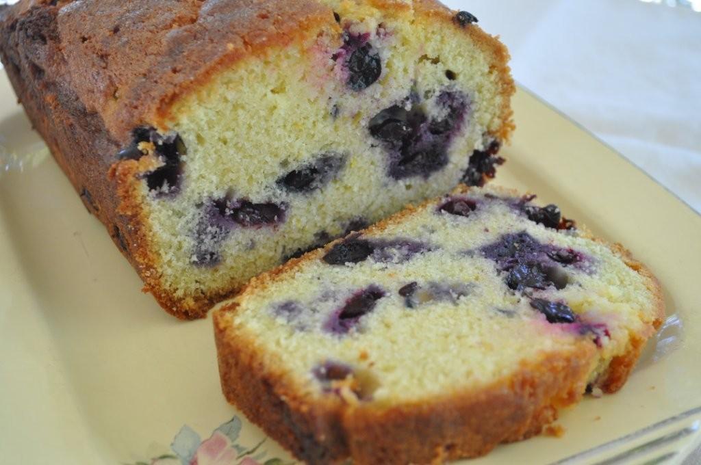 Lemon Blueberry Pound Cake  The Friday Friends Lemon Blueberry Pound Cake
