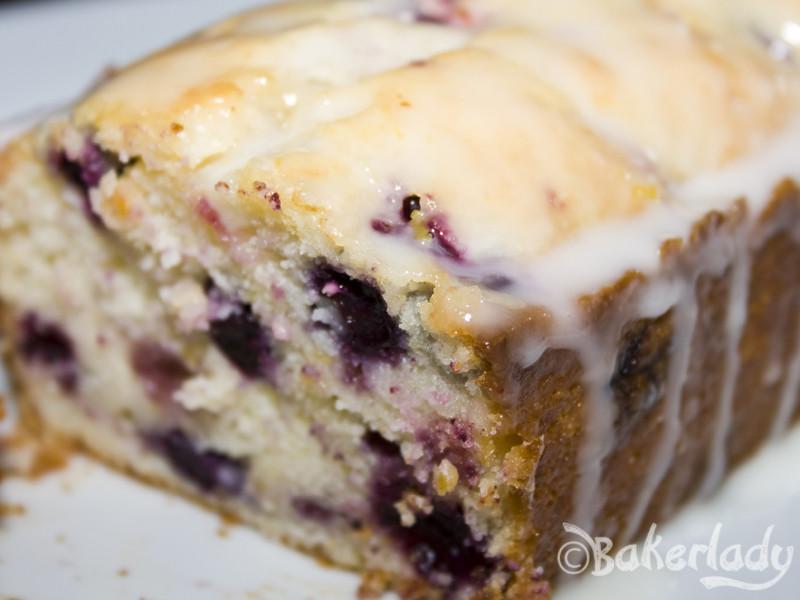 Lemon Blueberry Pound Cake  lemon – Bakerlady