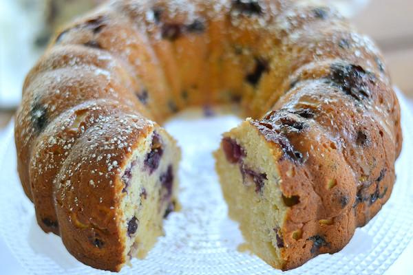 Lemon Blueberry Pound Cake  Blueberry Lemon Pound Cake Salu Salo Recipes
