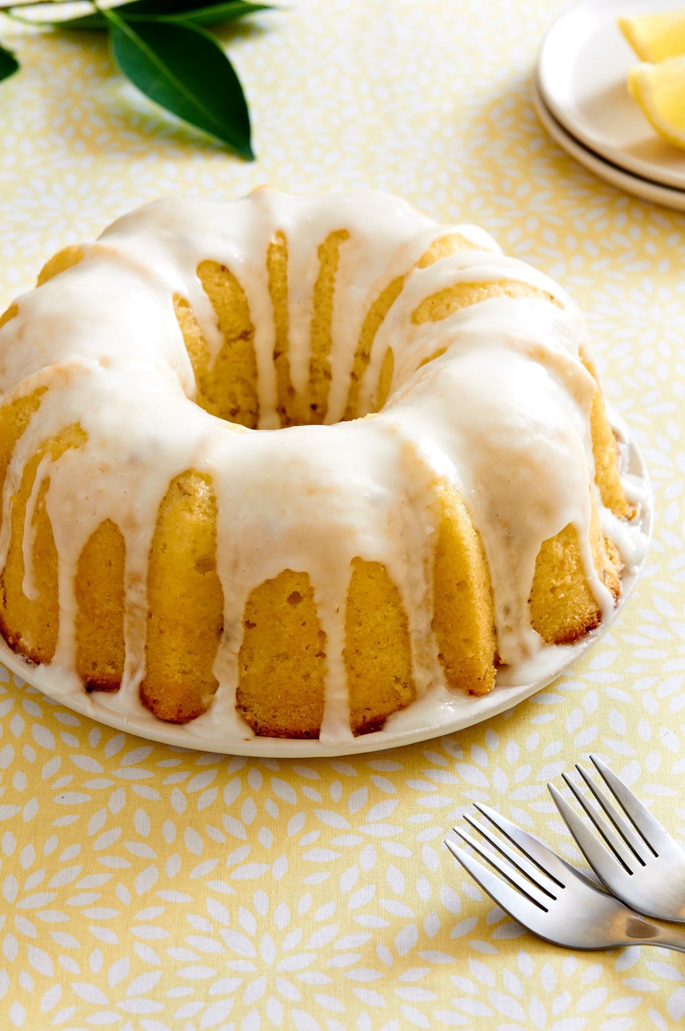 Lemon Bundt Cake  Lemon Lavender Bundt Cake I bake he shoots