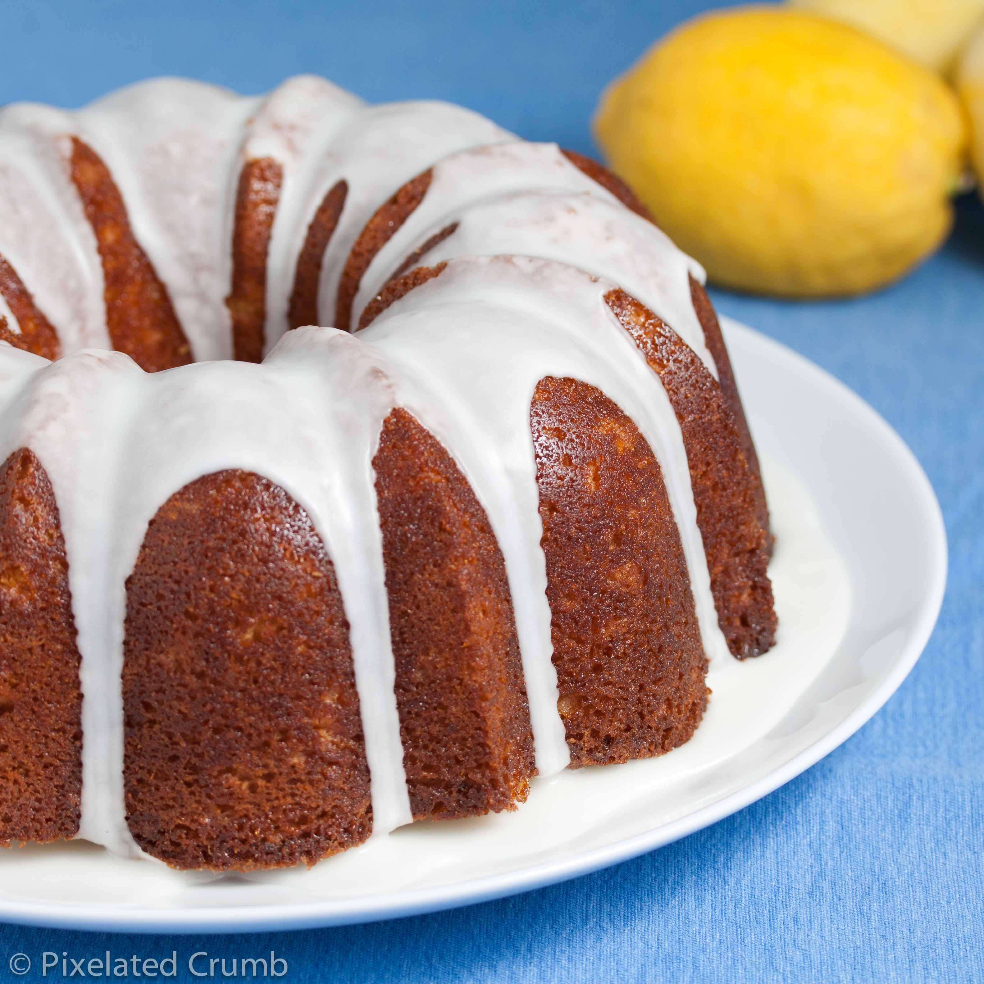 Lemon Bundt Cake  lemon bundt cake