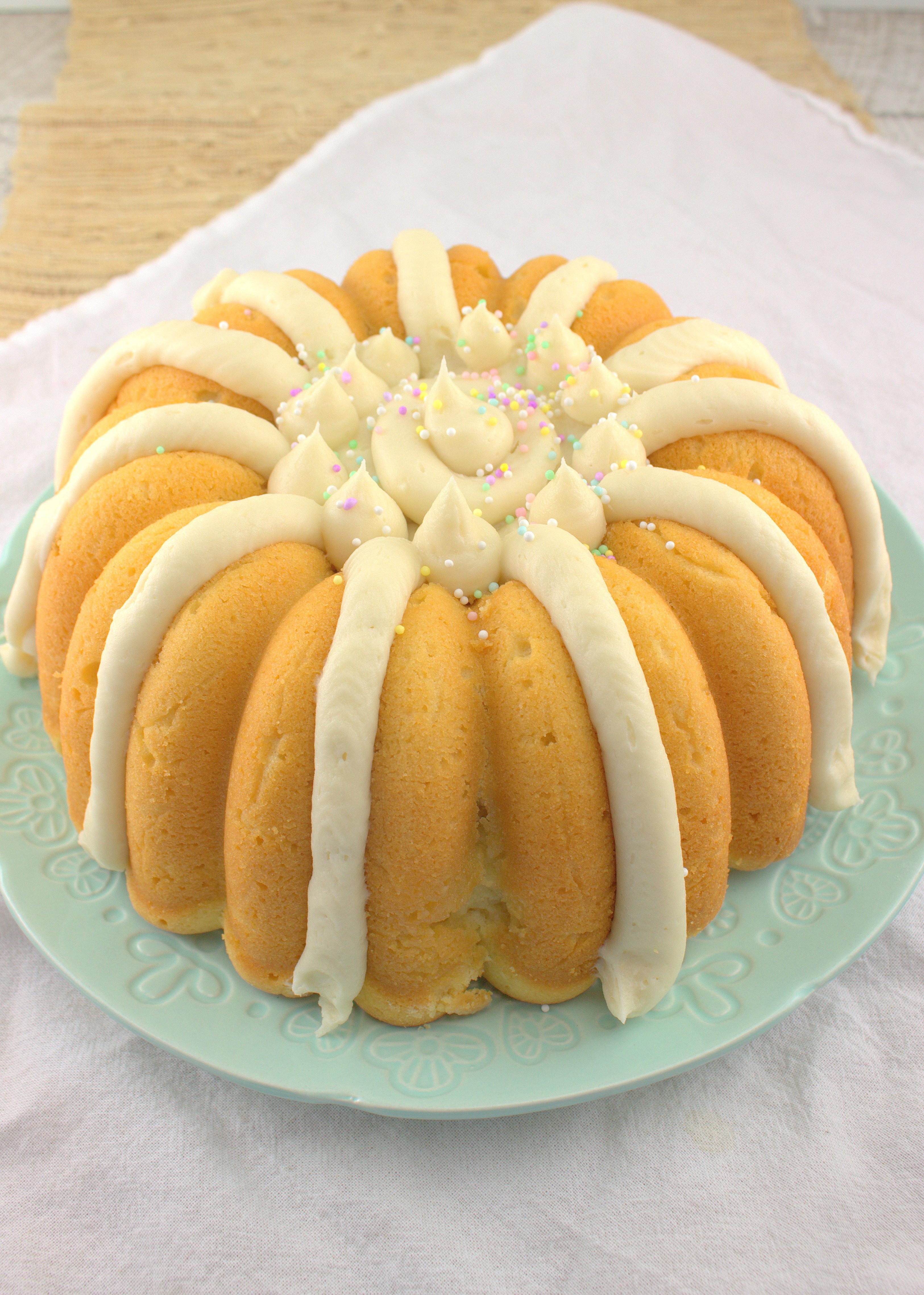 Lemon Bundt Cake  Lemon Bundt Cake with Cream Cheese Frosting BundtBakers