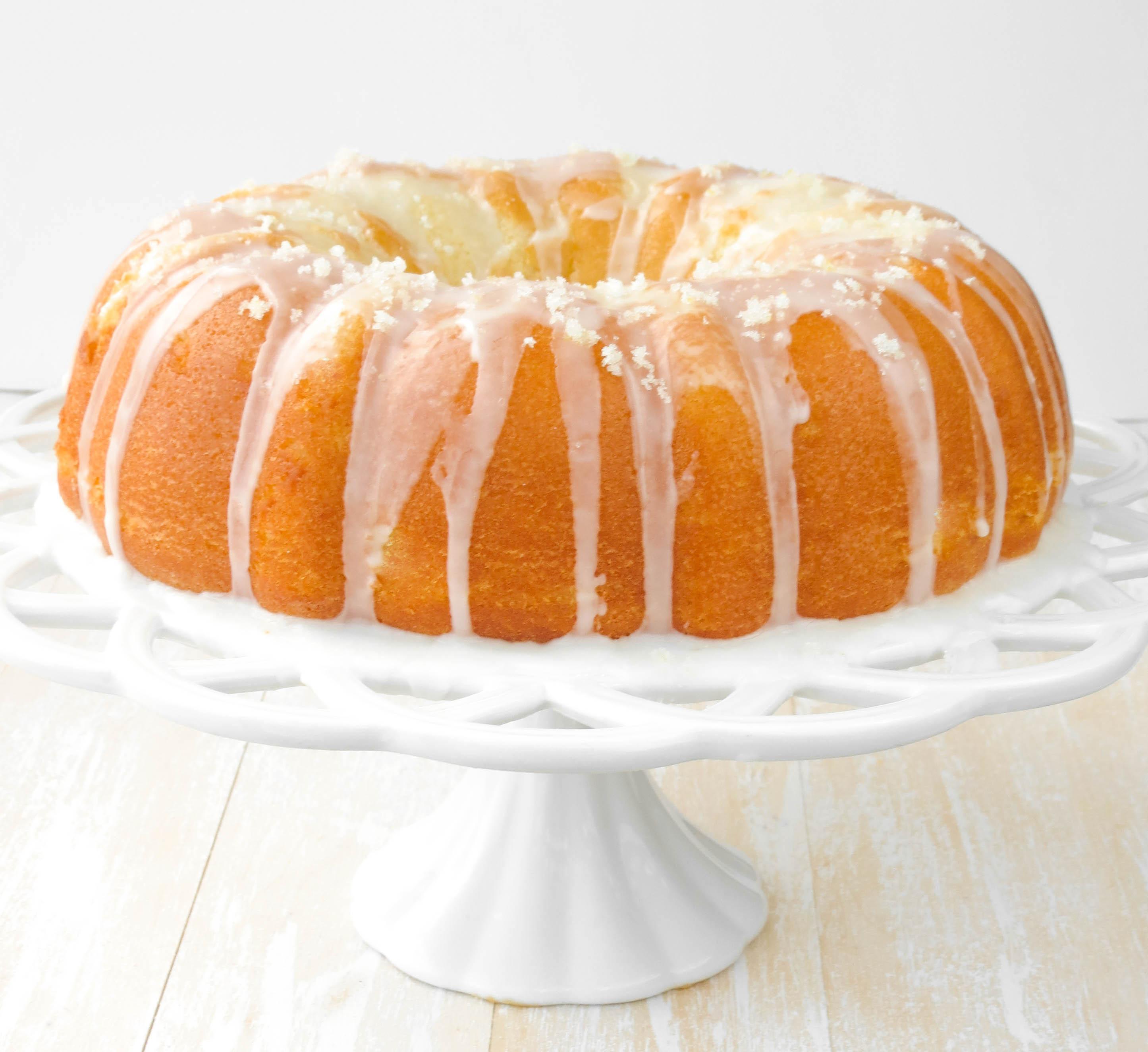 Lemon Bundt Cake  Super Lemon Bundt Cake Sprinkle Some Sugar