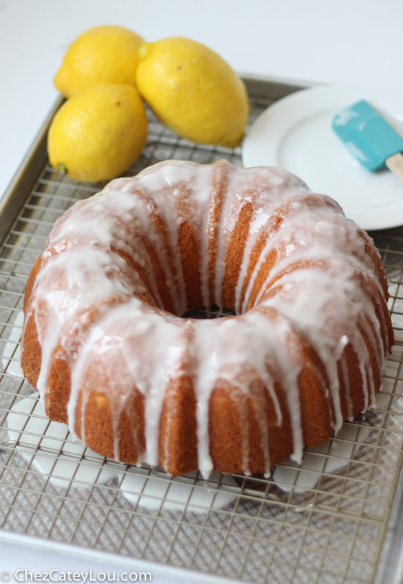 Lemon Bundt Cake  Lemon Bundt Cake Chez CateyLou