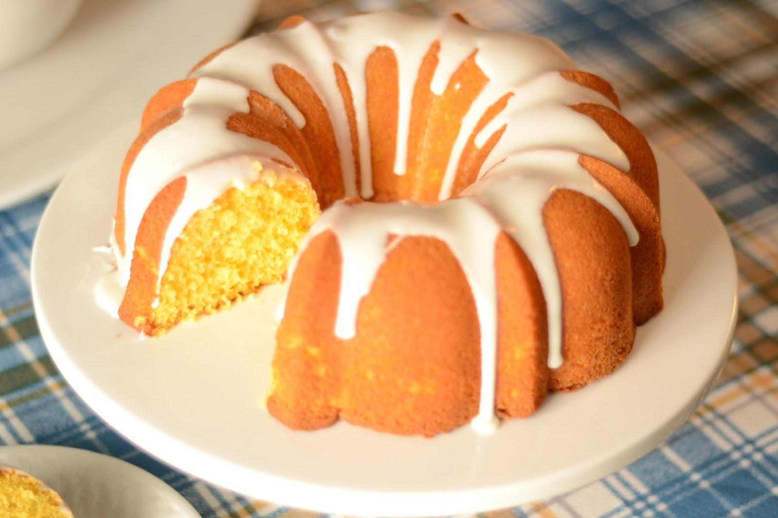 Lemon Bundt Cake  Lemon Pudding Cake